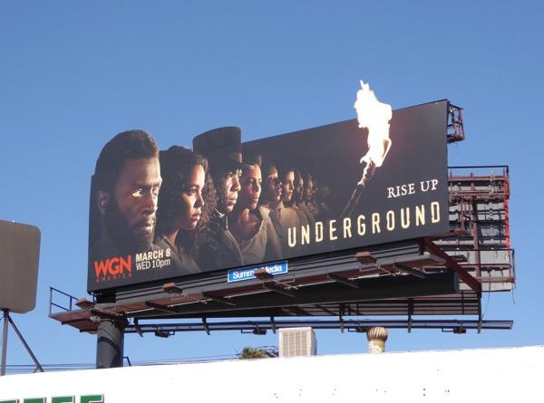Underground season 2 billboard
