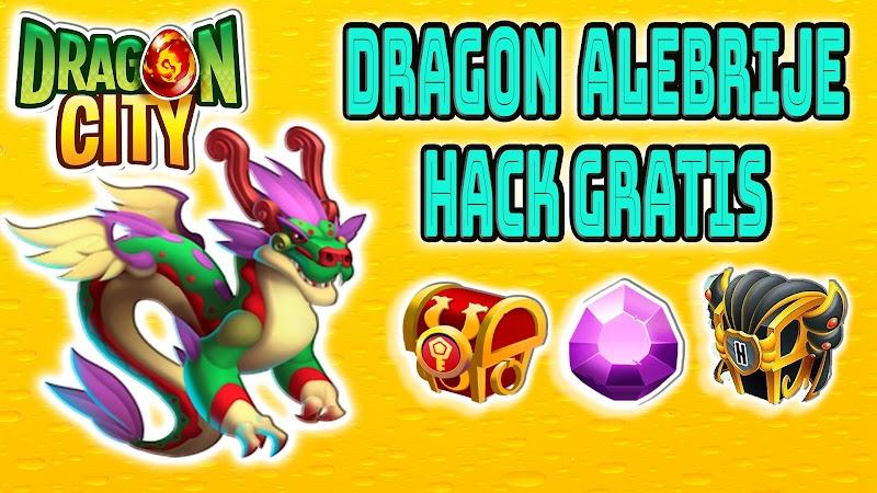 Dragon  City - Dragon Alebrije + Cofres Heroicos + Cofres Fichas Gratis