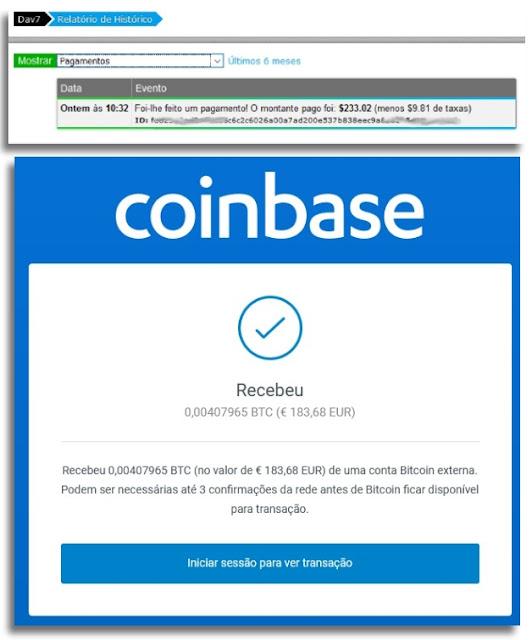 NeoBux Bitcoin Coinbase pagamento cripto