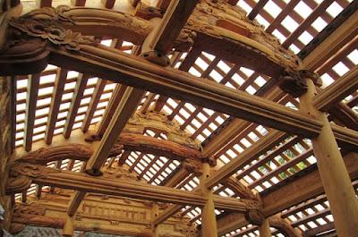 Thi công nhà gỗ tại thị trấn gia Ray