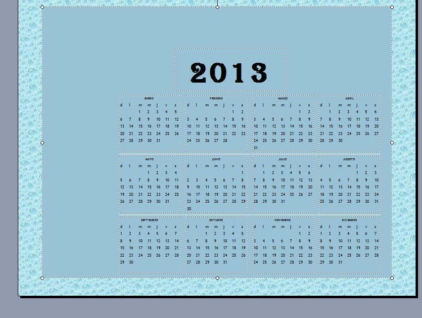 mis cosas practica 3 calendario anual publisher