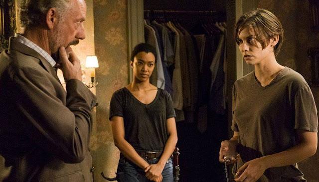 "Sasha y Maggie, 7x05 ""Go Getters"" de 'The Walking Dead'"