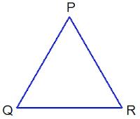 triangle PQR