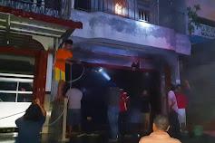 Rumah Zaman Malau di Samosir Terbakar, Br Sinaga Meninggal Dunia