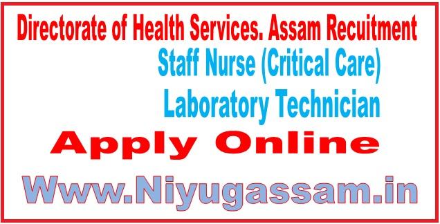 Directorate of Health Services. Assam Recruitment