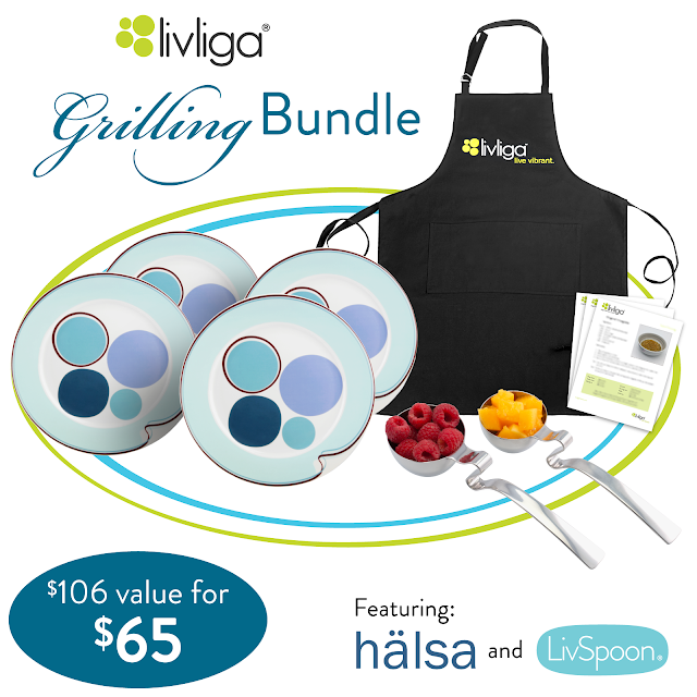 Livliga Healthy Seasonal Grilling Bundle