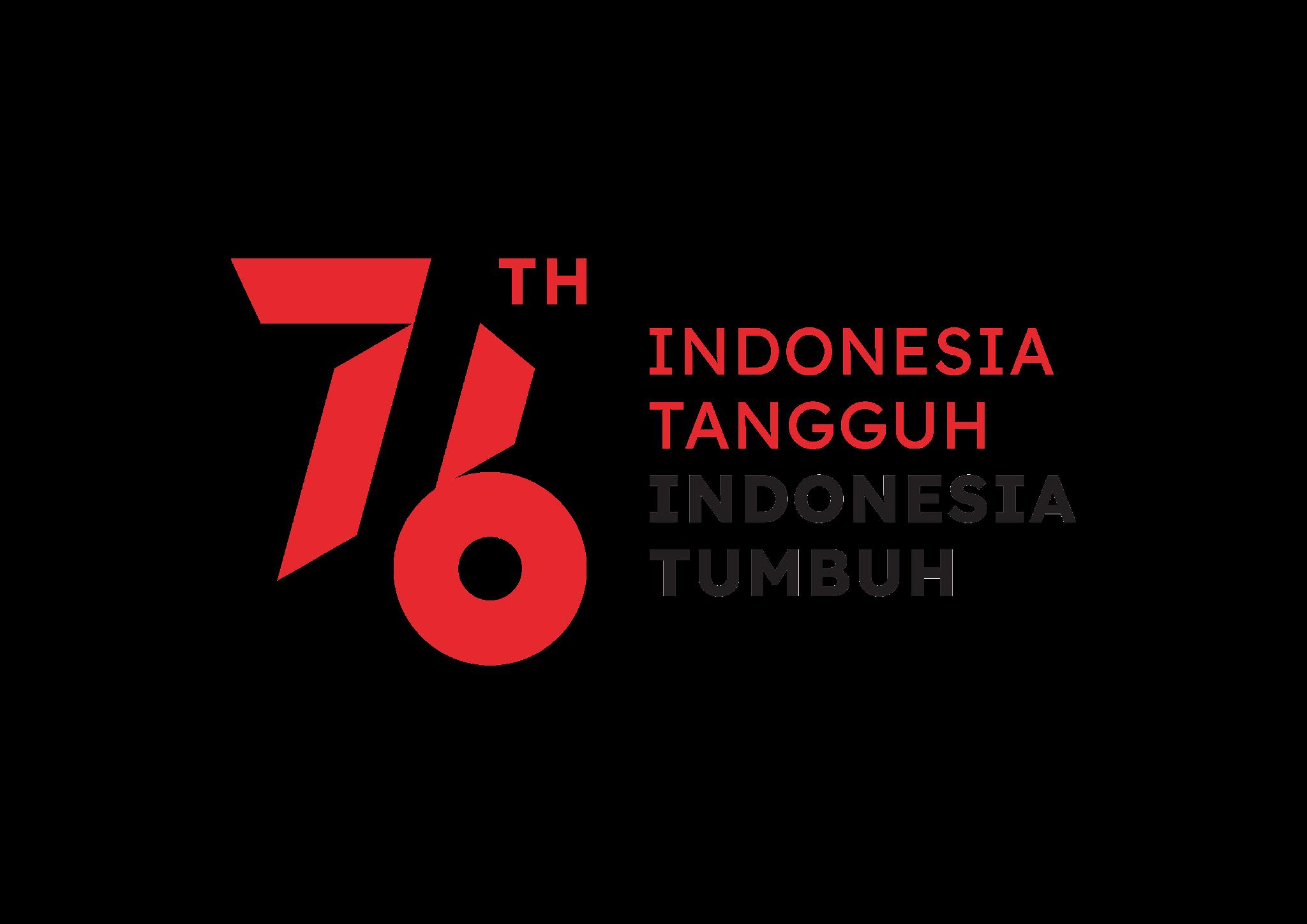 Link Download Logo Resmi HUT RI ke-76 Tahun 2021 Setneg PNG