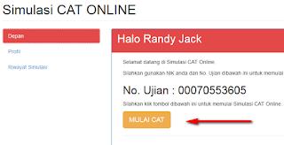 registrasi cat online menpan CAT