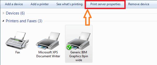 Finacle Passbook Printer Settings and Page Setup