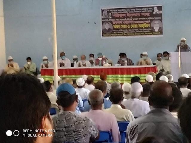 কিশোরগঞ্জে শরিফুল ইসলাম সাজু ও ছকমল হোসেন স্মরণে স্মরণ সভা ও দোয়া মাহফিল অনুষ্ঠিত
