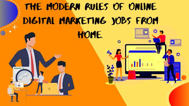 Digital Marketing Online Job Work From Home