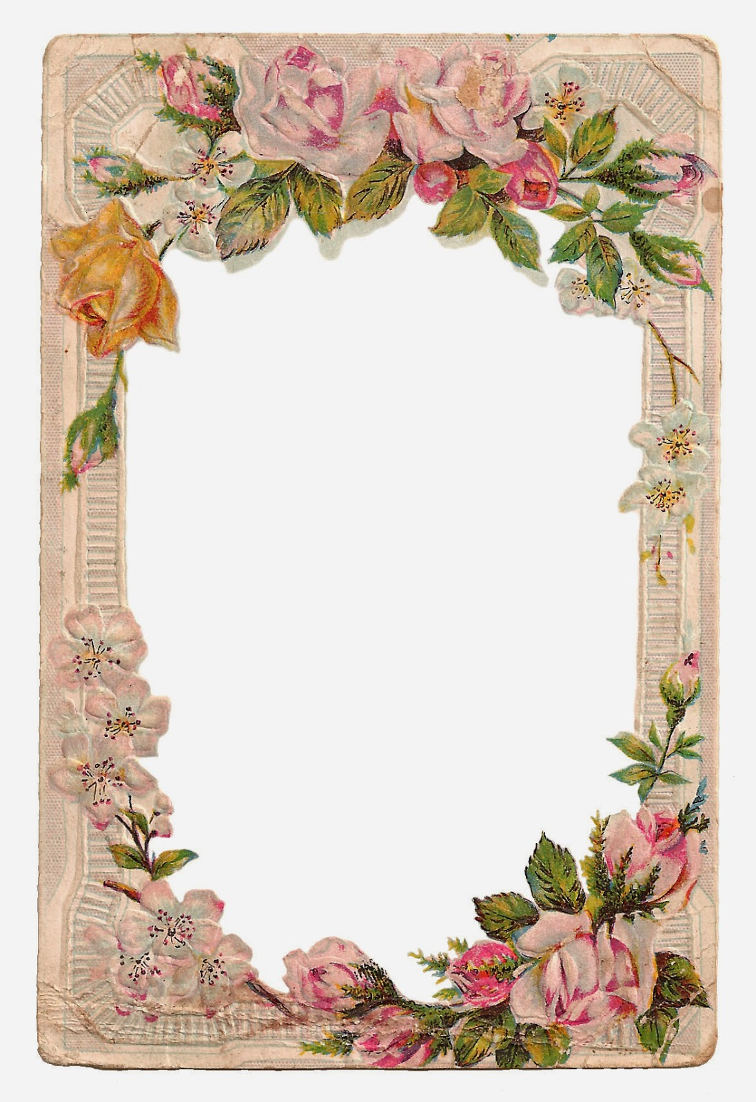 antique images free digital flower frame with roses flower garden clipart png flower garden clip art black and white