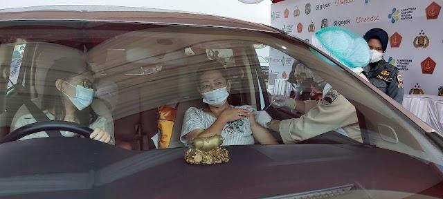 Vaksinasi Drive Thru, Pemko Medan Siapkan 60.000 Dosis Vaksin Covid-19