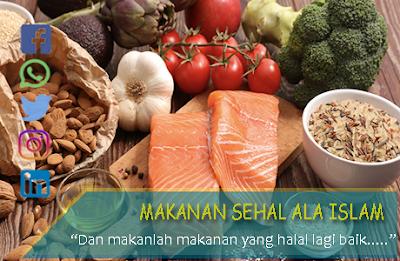 makanan sehat ala Islam