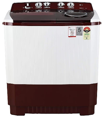 LG 11 kg 5 Star Semi-Automatic Top Loading Washing Machine (P1145SRAZ)
