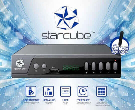 Starmobile Launches Starcube Digital TV Box for Php1,290