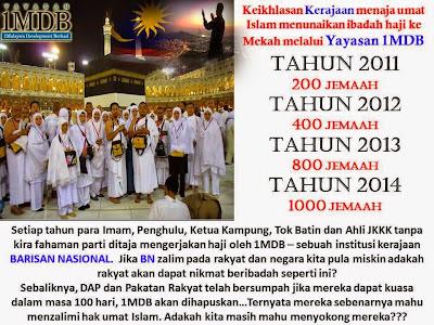 Image result for haji and 1mdb