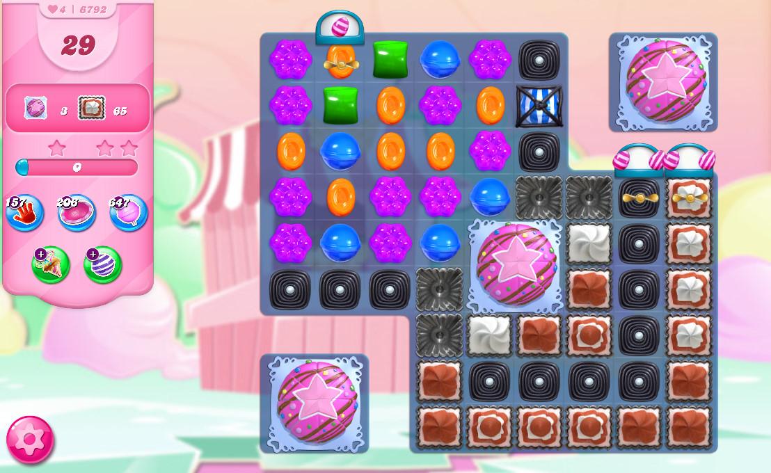 Candy Crush Saga level 6792