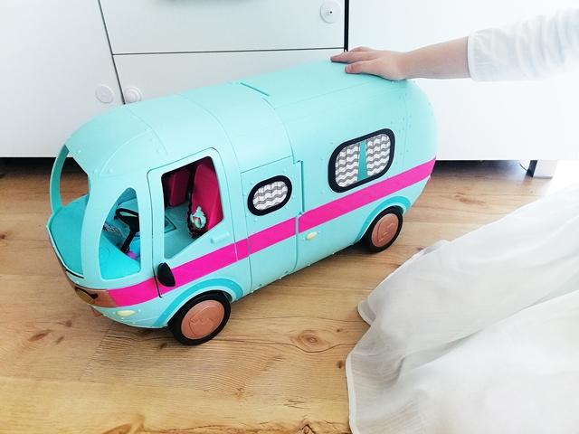 samochód kamper dla laleczek LOL SURPRISE MGO HIT