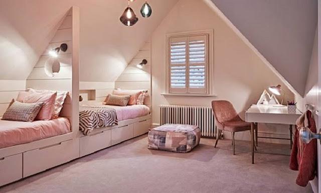 Contoh IV: Desain Rumah Minimalis Sederhana | Kamar Tidur