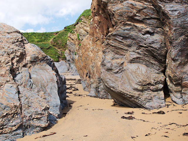 Hemmick Beach Gorran Haven Dodman Point Cornwall