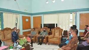 Pembinaan Disiplin dan Kinerja Pegawai, Wawali Kunjungi Bappeda dan Inspektorat