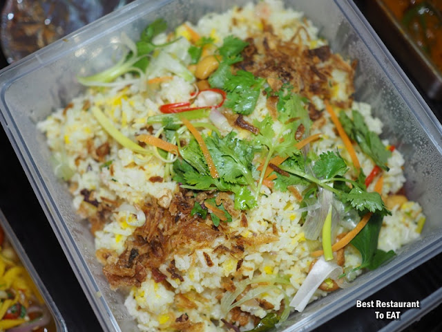 FEDERAL HOTEL KONTIKI SELERA KAMPUNG Set 8 Menu - Nasi Minyak