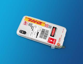 Mockup Custom Case Softcase iPhone X