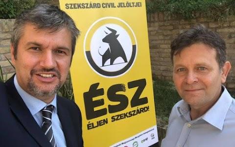 Lopással indította kampányát az ellenzék szekszárdi polgármester-jelöltje