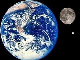 Comparising between Earth, Moon and Enceladus