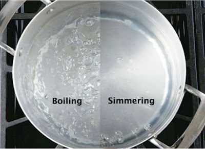 CHEF Q: What's the Difference Between Simmering and Boiling?