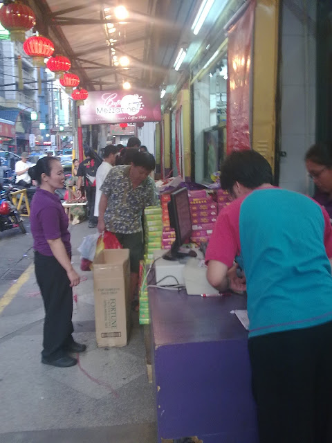 Buyers at Eng Bee Tin
