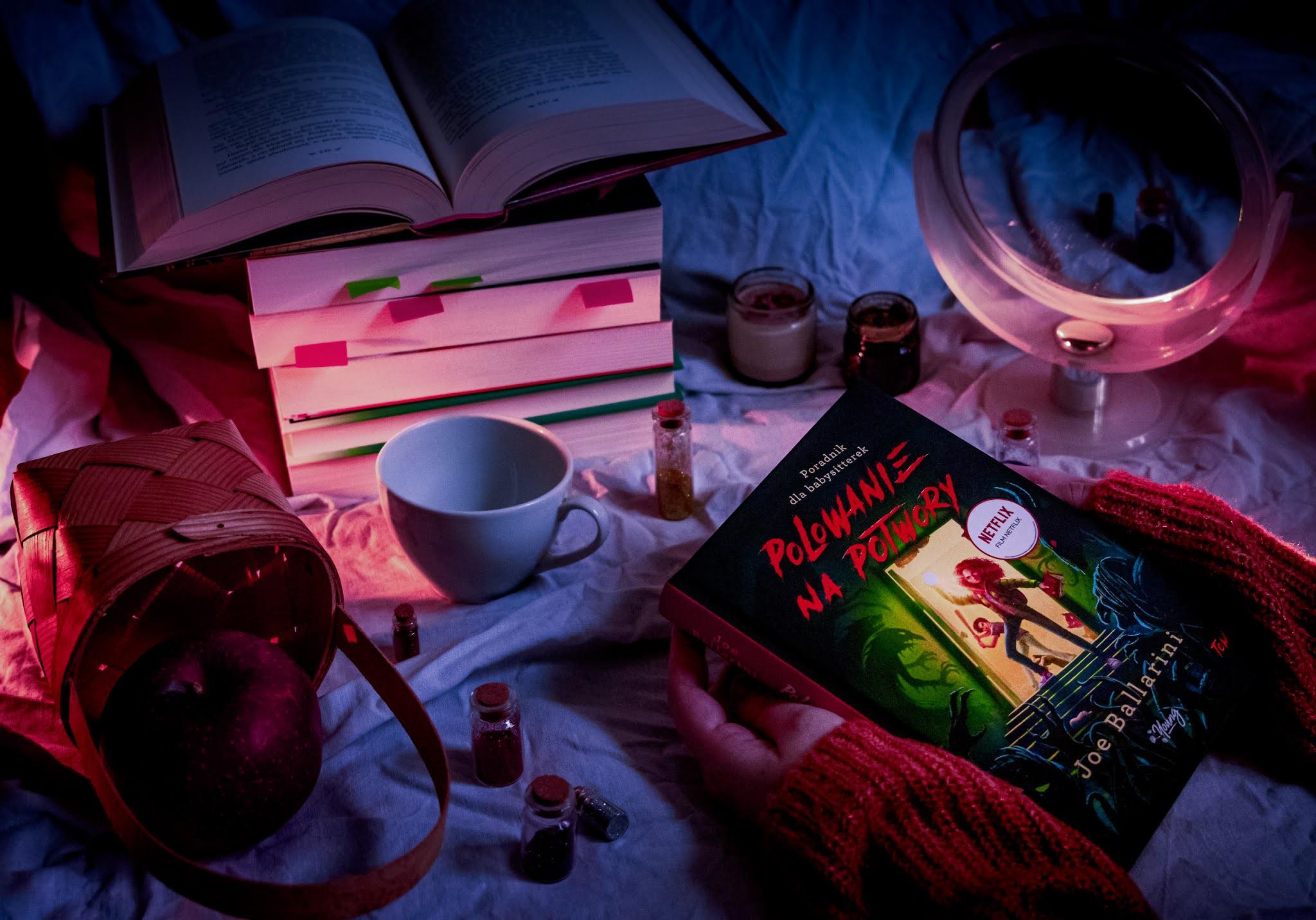Polowanie na potwory książka poradnik łowczyni potworów