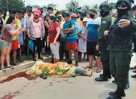 Santa Cruz: colisión de motocicletas deja un muerto