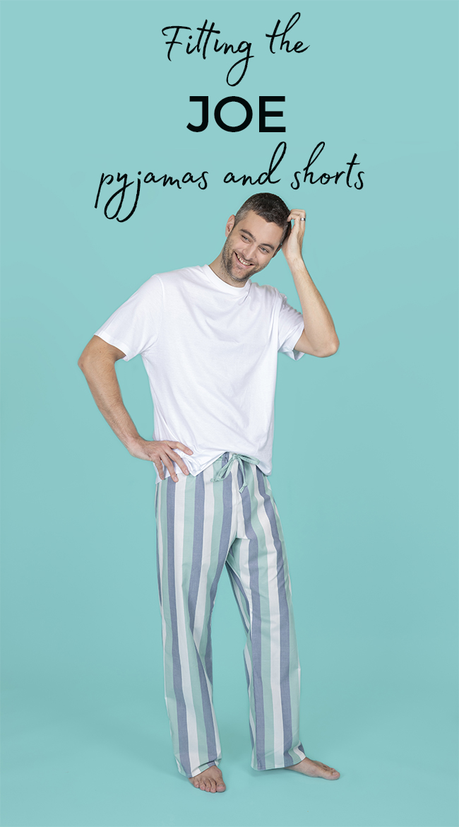 Joe pyjama bottoms, trousers, pants and shorts sewing pattern - Tilly and the Buttons