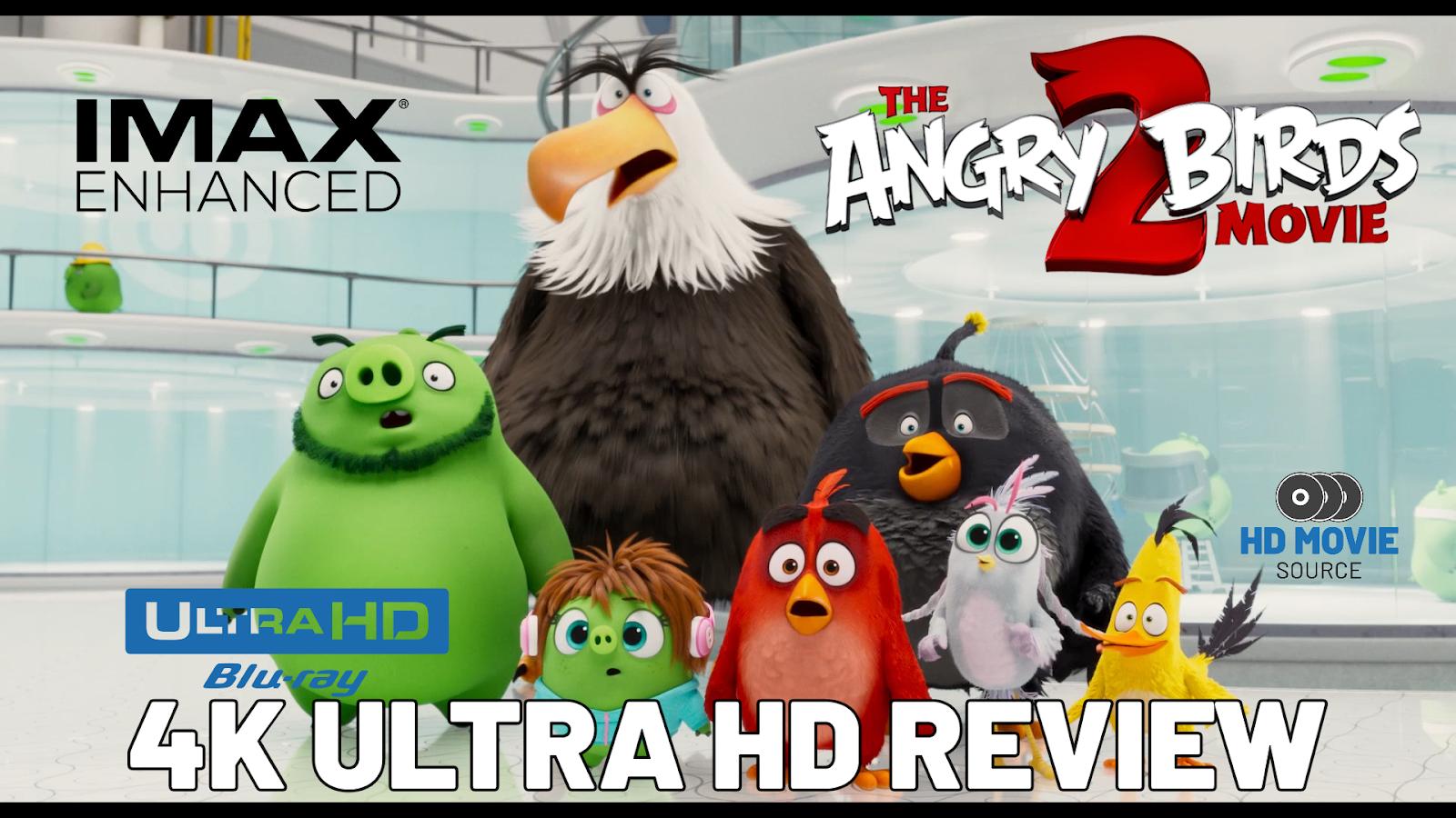 The Angry Birds Movie 2 2019 Imax Enhanced 4k Ultra Hd Blu Ray