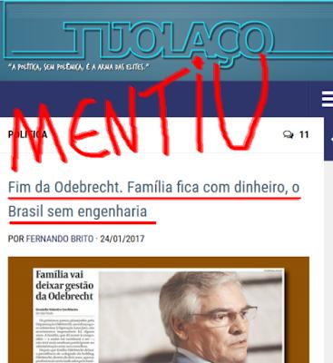 tijolaço do PT com pena da elite corrupta do Brasil