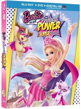 Barbie in Princess Power 2015 Dual Audio ORG 720p BRRip 834MB x264