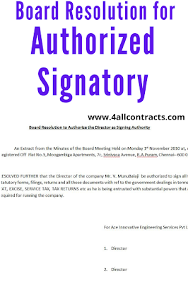 Board Resolution to Authorize the Director as Signing Authority - doc
