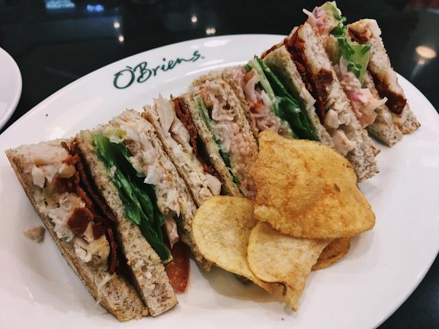 Chicken Tripledecker Toastie, O'Briens Irish Sandwich Cafe @ Komtar JBCC, Johor Bahru, Malaysia