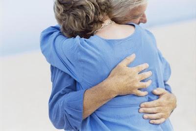 Abrazo consolador