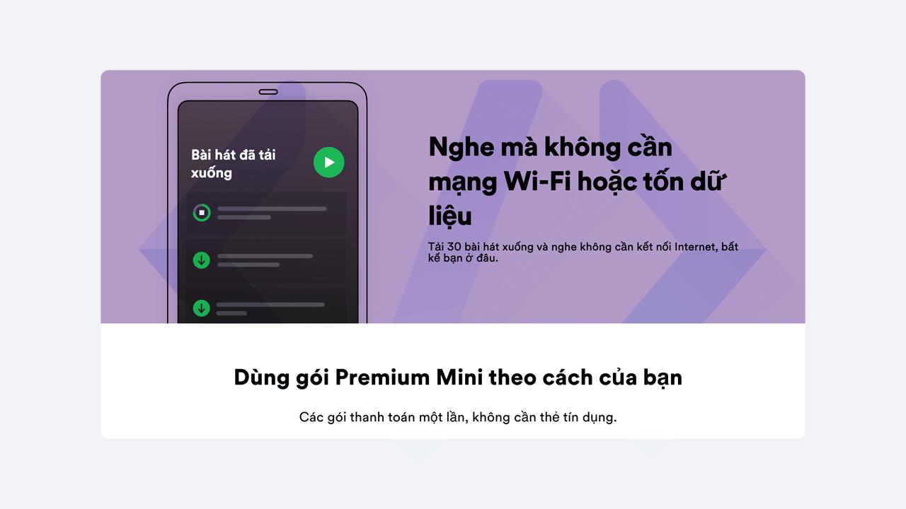 Nghe mà không cần mạng WiFi hoặc tốn dữ liệu