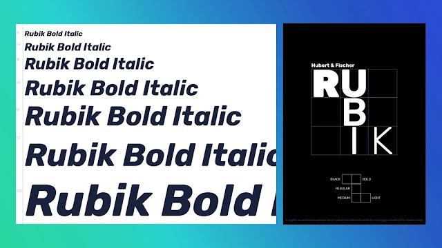 rubik-fonts