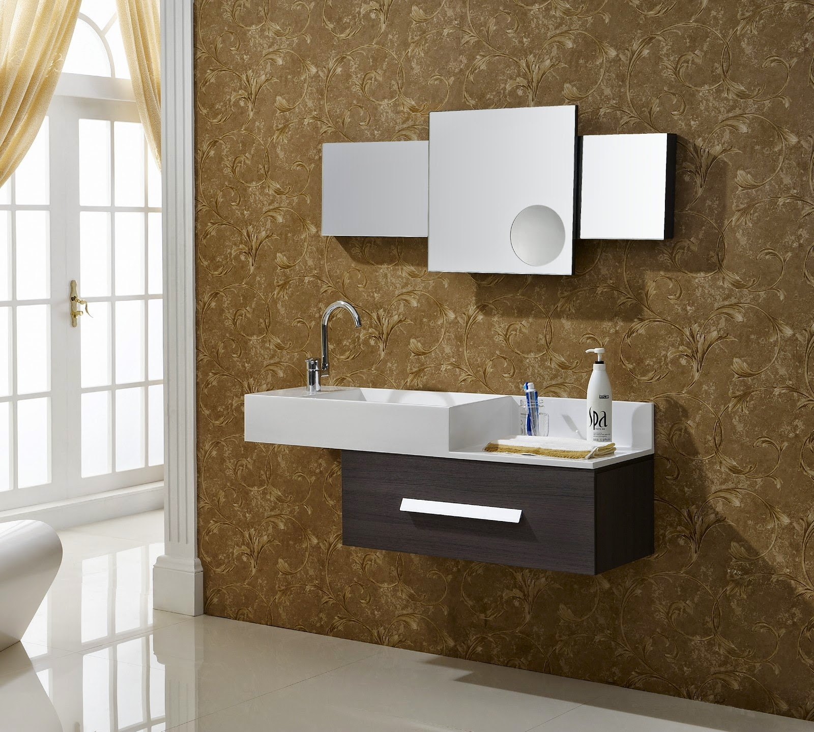 Antique and Modern Bathroom Vanities   Ideas And Advice For Your     bathroom vanities lowes