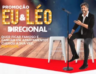 Cadastrar Promoção Eu e Léo Direcional Concorra Apartamento - Enviar Vídeo Participar