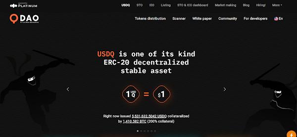 USDQ - StableCoins by Platinum Q DAO
