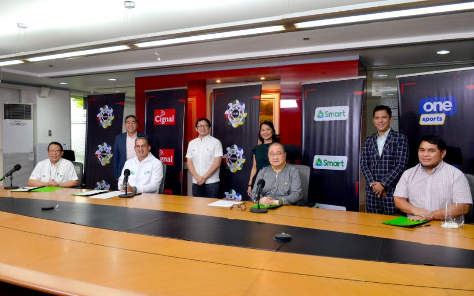 Cignal TV, Smart ink 5-year deal for the UAAP