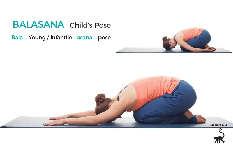 Balasana benefits in hindi