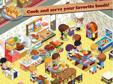 Game Memasak di Anroid Restaurant Story