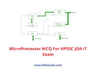 MicroProcessor MCQ For HPSSC JOA IT Exam